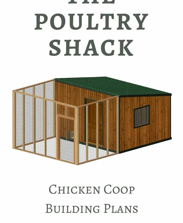 A great coop for up to 30 chickens!