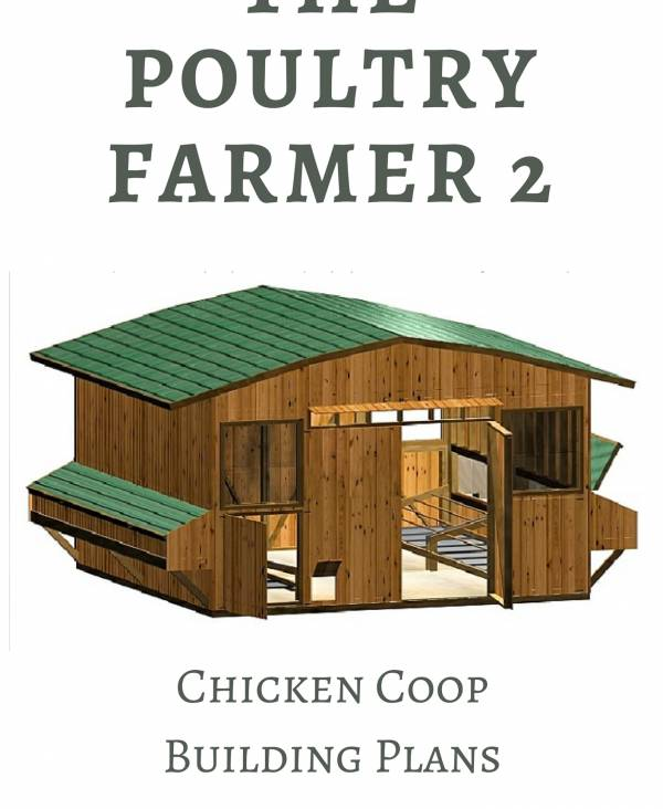 Large Chicken Coop Plans