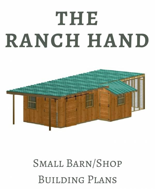 Small Barn or Shed Building Plans